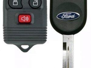 1998-2016 Ford / Lincoln/ Mercury / Mazda / 3-Btn Keyless Entry Remote / CWTWB1U331 / (R-FD-3) / Key | K-H84-PT
