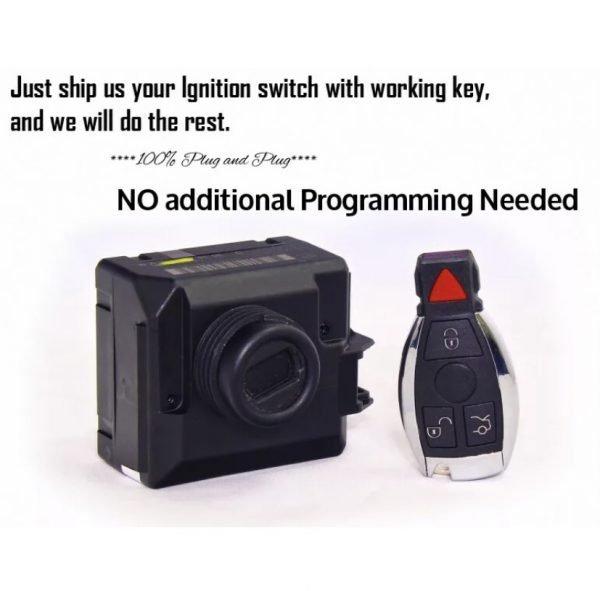 Mercedes Benz Key + Programming Service by EIS / 1997 – 2014